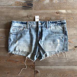 VS Pink cut off shorts